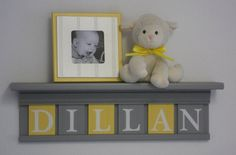 Baby Boy Room Decoration Name Nursery Decor 24 by NelsonsGifts, $48.00