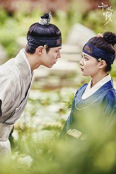 Moonlight Korean Drama, Love In The Moonlight Kdrama, Kim Yoo Jung Park Bo Gum, Kim Joo Jung, Park Go Bum, Prince Héritier, Korean Drama Best, Drama 2016, Moonlight Drawn By Clouds