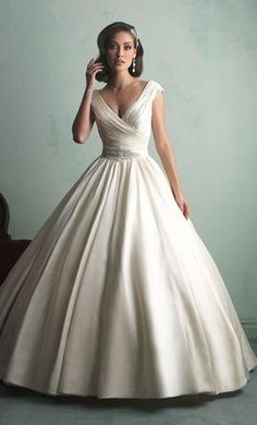 Allure Bridals 9155 wedding dress currently for sale at 42% off retail.