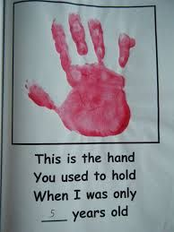 love this one!  Get all the children to do a hand print to take home