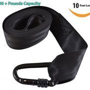 2016 Tree Swing Hanging Strap Kit By Yarrdee - Long Edition - 10 Ft Waterproof - Lock Carabiner Hook - Supports 1000 lbs - For Tire Disc Web Spinner Porch Patio Garden Toddler Kid Swings Hammock Hammock Tree Straps, Diy Hammock, Hammock Swing, Web Swing, Kids Swing, Best Cleaning Products, Best Commercials, Swings, Belt