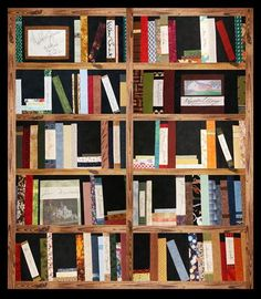 Jo's Library Quilt - Authors Helping Coalville Raise Funds For A New Library