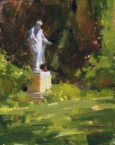 Sentinel by Jennifer McChristian Oil ~ 10 x 8