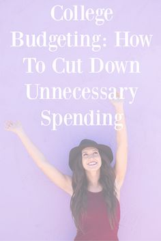 College Budgeting: How To Cut Down Unnecessary Spending - There are plenty of ways to reduce spending as a student and to save money. Here are just a few tips that might help with paying for college.