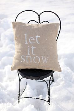 let it snow! photo by http://www.lauramurrayphotography.com