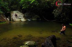 Cachoeira da Agua Branca - Ilhabela - SP - Brasil