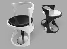 We don't often consider the everyday stool to be conforming (or even very comfortable) to the user in the same way as many other seating solutions.