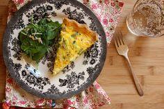 Gluten-Free Asparagus Quiche Recipe on Yummly. @yummly #recipe