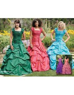 Rachel Modest Prom Dress :: Margene's Bridal