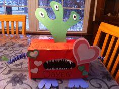 Valentines box for school