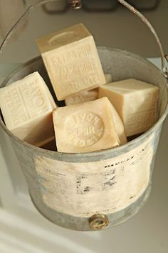 would make amazing favours - handmade soap