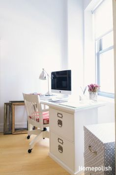 Business in Brooklyn Heights - Kelly's personal PR pad @Homepolish NYC