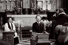 "Haha!!!! Whaaaatttt?!? Lol!              -Michael Fassbender on the set of ""Angel"" directed by François Ozon (2007) XD"