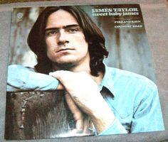 Sweet Baby James LP Album by James Taylor - Vinyl, Warner Bros. Records WS 1843 #FolkCountryRockSoftRock
