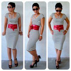 mimi g.: DIY Dress: Pattern Review B5706 Matronly to Sassy!