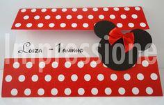 Convite Minnie Janela | Thalita Santos | 33201D - Elo7