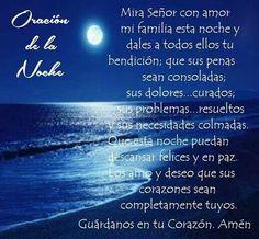 Oracion de la noche.....