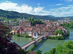 Laufenburg am Rhein,Germany