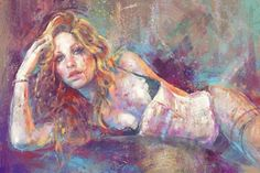 Female Digital Paintings by Marta Nael | Pondly