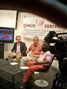 En una entrevista en Telek sobre las elecciones en el Perú y sobre la erradicación del trabajo infantil que realiza Adevi en Huachipa.