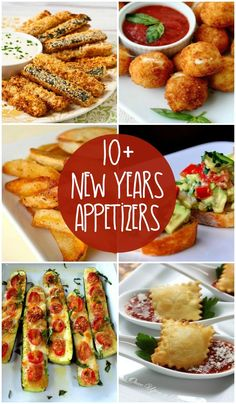 10+ New Years Appetizers - Delicious appetizers perfect for New Years or any occasion!! { lilluna.com } #newyears