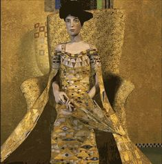 Weekly Art Gif Selection: Gustav Klimt Edition