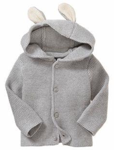 9a60e92fbc3d Bunny-ear cardigan Peter Rabbit Baby Clothes