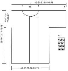 """So Berry - Gebreid DROPS vest met kantpatroon van """"Verdi"""". Maat: S - XXXL. - Free pattern by DROPS Design"""