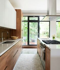 Photo Gallery: 46 Modern & Contemporary Kitchens | House & Home #Modernkitchenwood