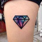 Nebula Space Diamond Tattoo