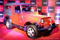 Recap - 2015 #Mahindra #Thar (facelift) launched at INR 8.03 lakhs – IAB Report -