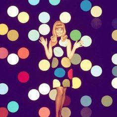 60'lı yılların modası olan puantiyeler hem gece hem de gündüz rahatlıkla kullanılabiliyor!