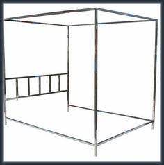 Canopy Design, Bed Design, Wardrobe Rack, Tent, Bedrooms, Chrome, Interior Design, Furniture, Home Decor