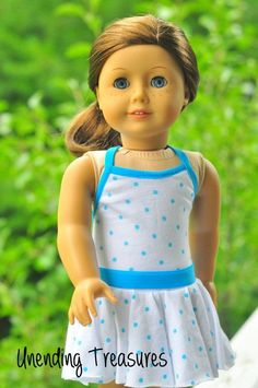 American Girl doll clothes 18 inch doll by Unendingtreasures by Heyjude01