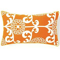 @Overstock - Dress up your decor with a bold decorative pillow from Jiti Pillows. Crafted by artisans in the United States, this Floret pillow offers a simple shape with a large orange and white floral print.http://www.overstock.com/Main-Street-Revolution/Jiti-Pillows-Floret-Orange-Cotton-Decorative-Pillow/6418248/product.html?CID=214117 $67.09
