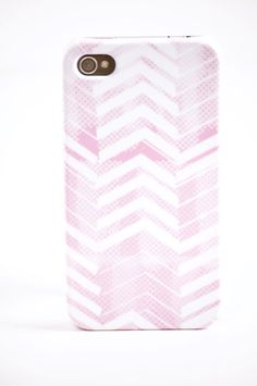 Pretty in Pink iPhone Case  by The Velvet Owl Design Studio