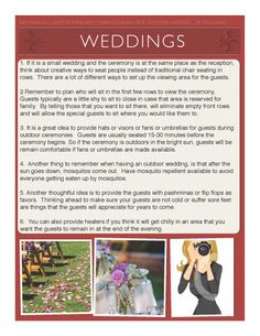 Things You Don T Want To Forget When Plan Your Wedding