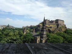 Edinburgh Castle — in Edinburgh, Scotland.