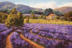 Erin Dertner - Fragrant Fields - Fine Art Print