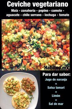 Hábitos Health Coaching | Ceviche de maíz