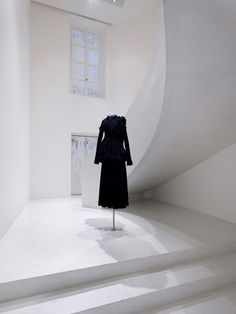 Interior of the Yohji Yamamoto store in Paris by Sophie Hicks. Photograph by Johannes Marburg