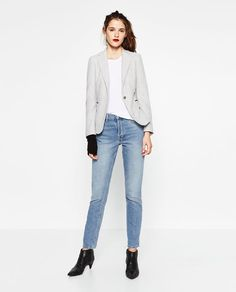 Image 1 of BLAZER WITH ELBOW PATCHES from Zara