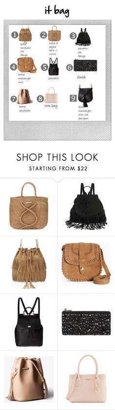 it bag by stylosenoi on Polyvore featuring moda, Dolce&Gabbana, Chloé, Furla, ViX, BCBGMAXAZRIA, The Code and Polaroid