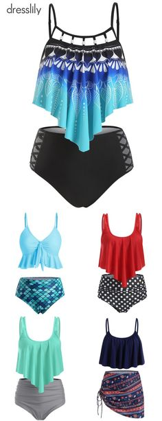 Discover 2020 women's swimwear and beachwear at dresslily. Browse the latest bikinis, tankinis, bathing suits, and cover ups. Order now at dresslily. Swimsuits For Teens, Modest Swimsuits, Cute Swimsuits, Trendy Outfits, Cute Outfits, Cute Clothes For Women, Beachwear, Women's Swimwear, Swimming Costume