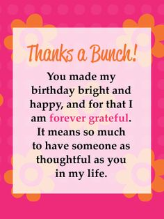 Cool 50 Best Thank You Cards For Birthday Wishes Images In 2020 Personalised Birthday Cards Paralily Jamesorg