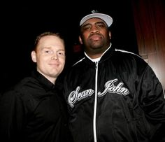 Patrice with Bill Burr