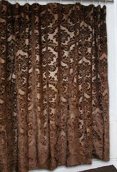 Gold Rush Western Shower Curtain Lonestar Decor