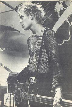 """zombiesenelghetto: The Clash: Paul Simonon, Feeling Magazine, France 1978 """