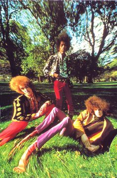 The Jimi Hendrix Experience1967 (My older brother had all of their albums, so naturally I became a fan!)