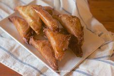 Triángulos de pasta philo rellenos de jamón y queso   La cocina perfecta